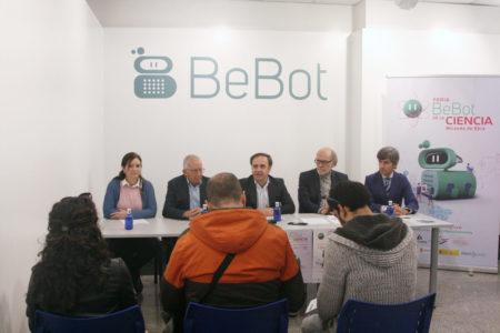 Presentación de la Feria Bebot de la Ciencia en rueda de prensa