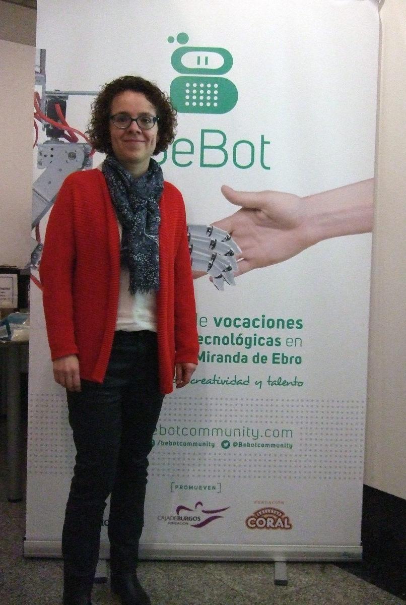 Yolanda Núñez, investigadora en el Centro Tecnológico de Miranda de Ebro (CTME)
